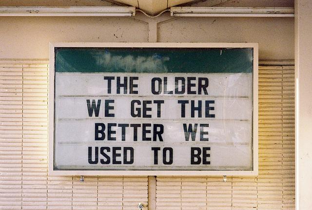 чем старше тем лучше