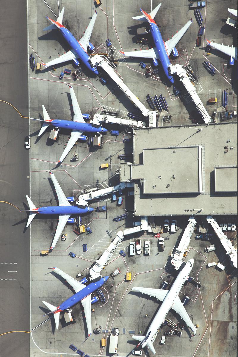 аэропорт вид сверху