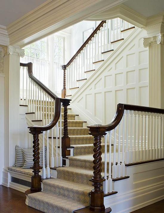 лестница в доме 1900 г, НЙ