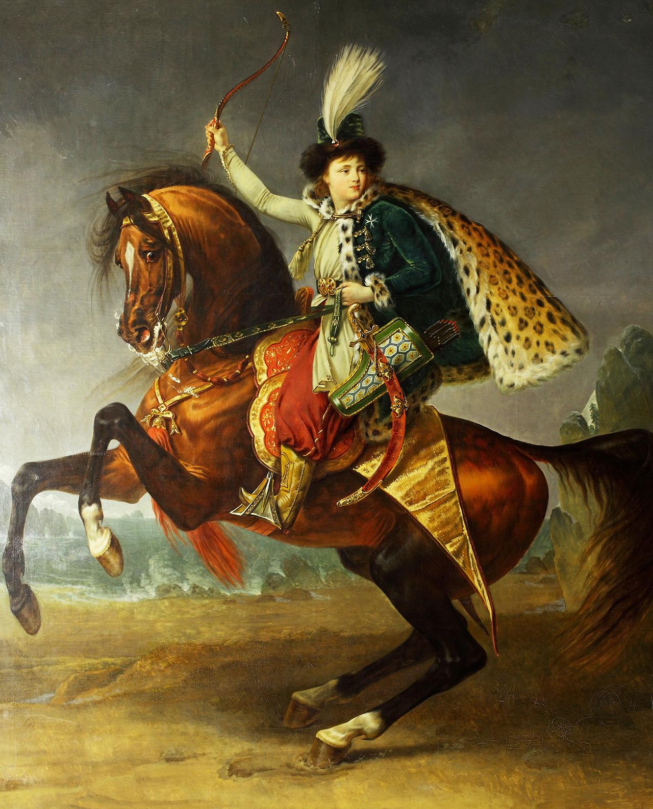 Antoine-Jean Gros Portrait of Prince Boris Yusupov, 1809