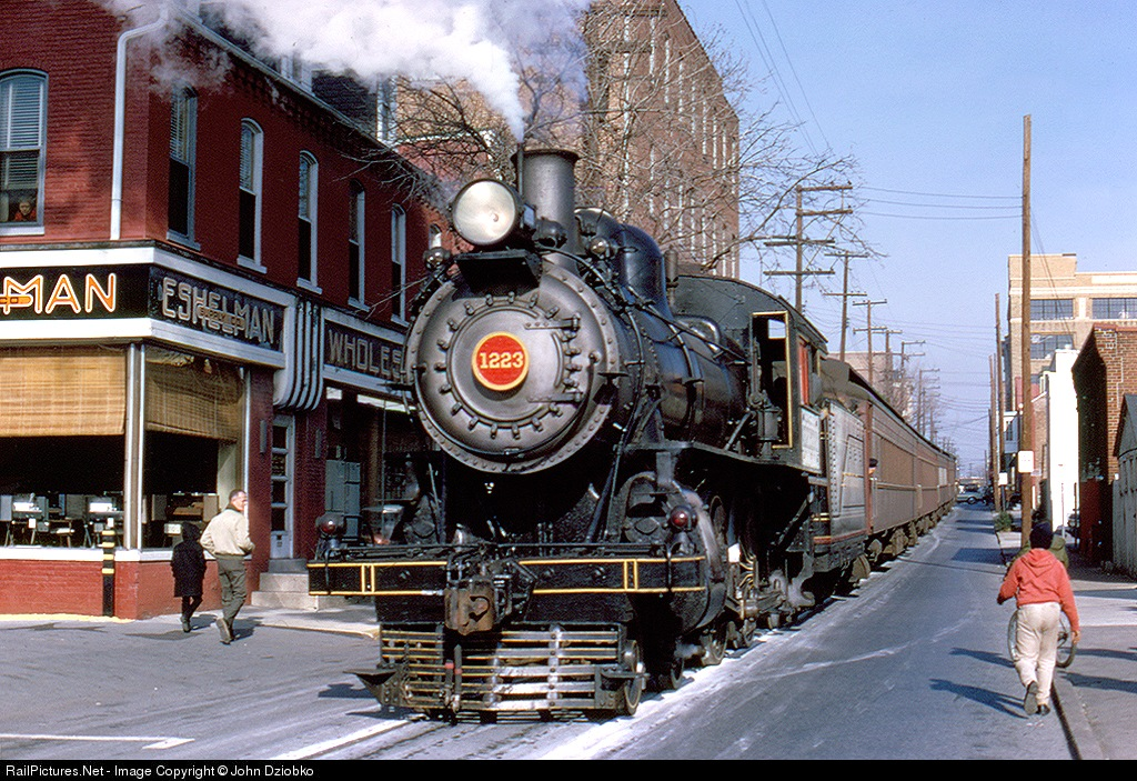 поезд на улице