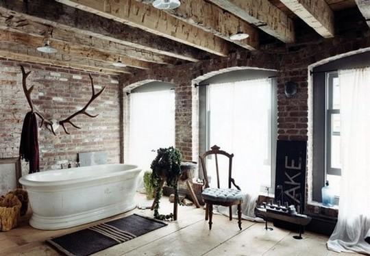 лофт-ванная