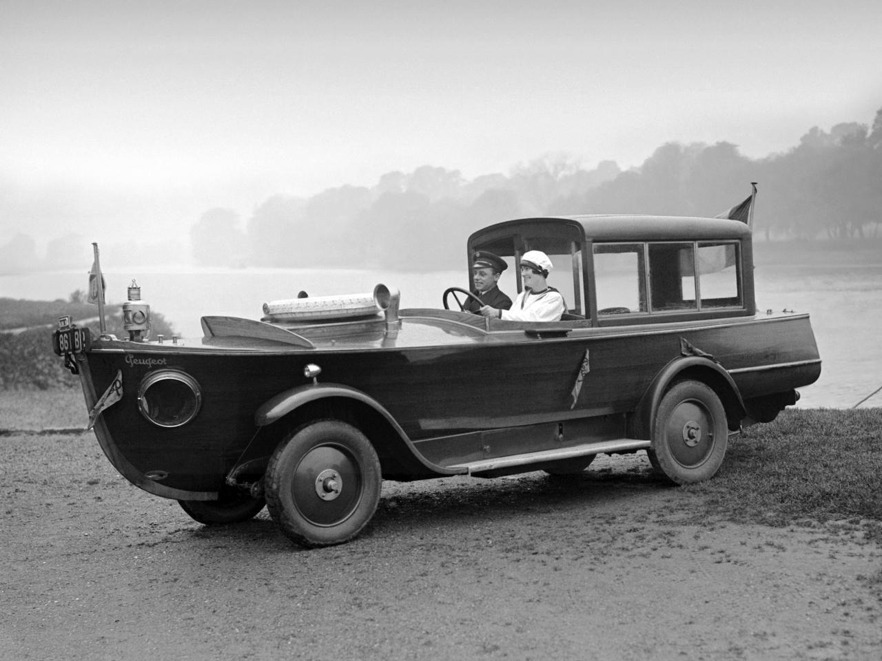 1925 Peugeot Motorboat Car