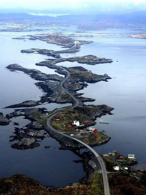 шоссе в Норвегии