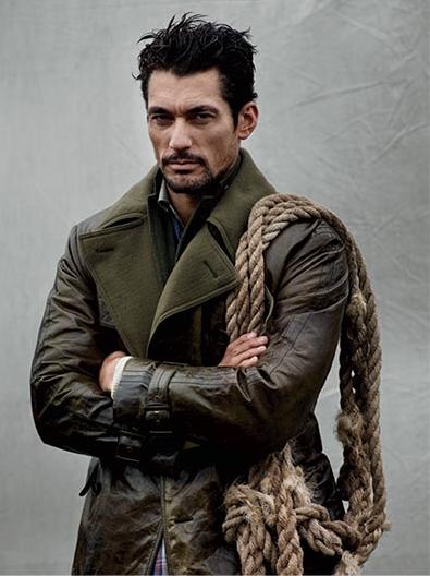 British Supermodel David Gandy 1