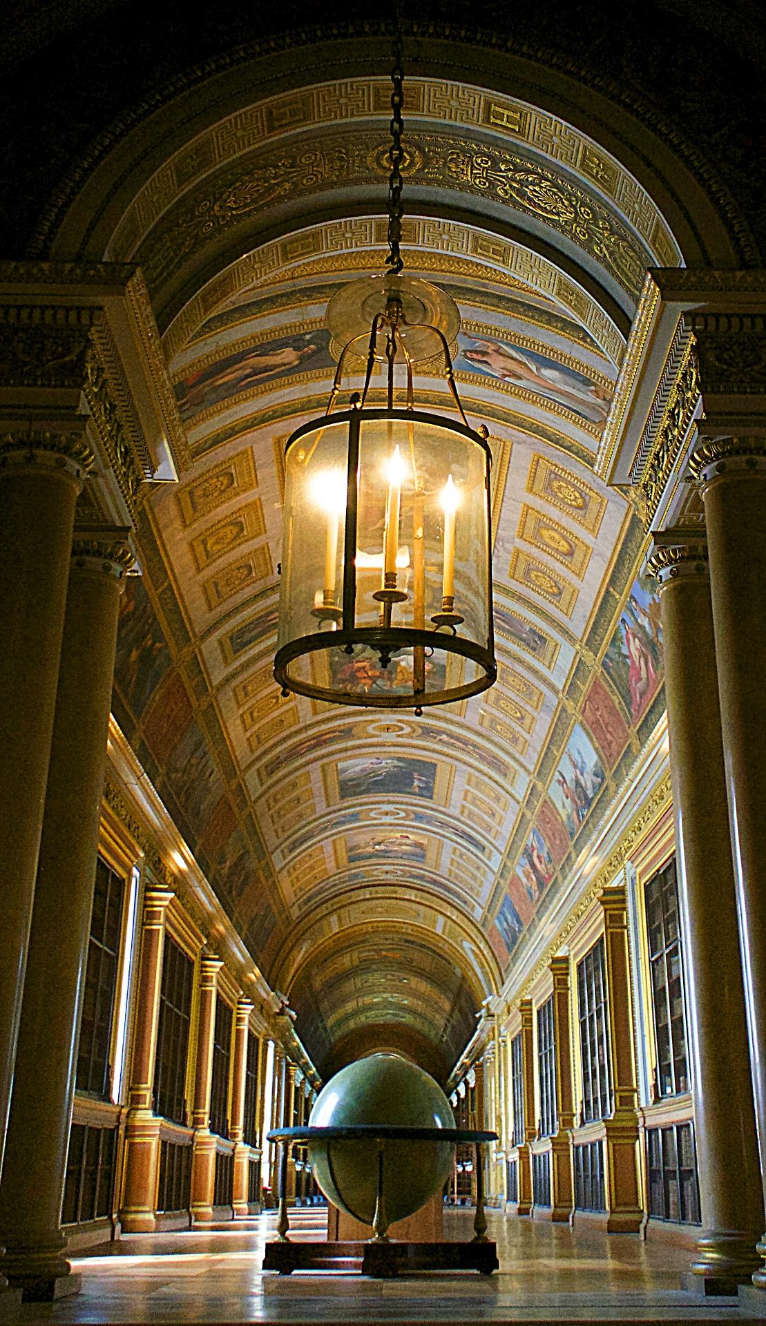 библиотека анфилада