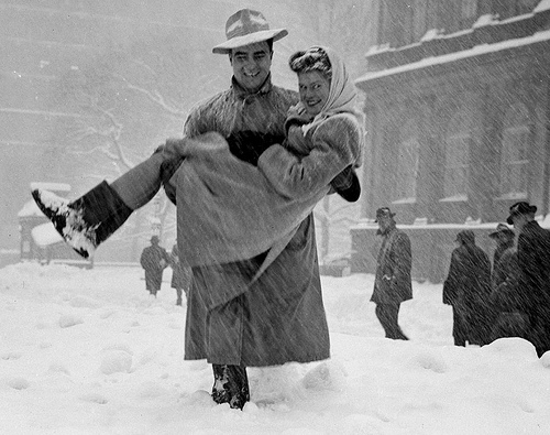 Winter in New York City, 1947
