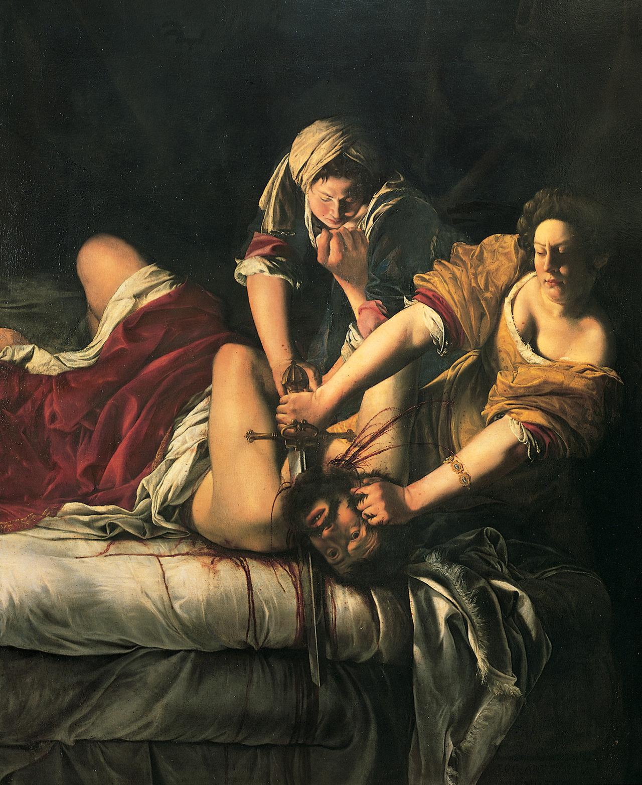 Artemisia Gentileschi 1611–12.