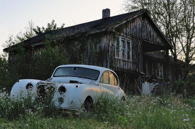 руины Ягуара штат Кентукки
