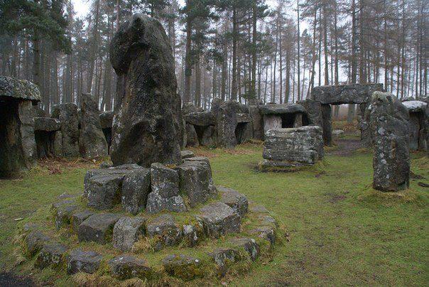 друидский погребальный комплекс