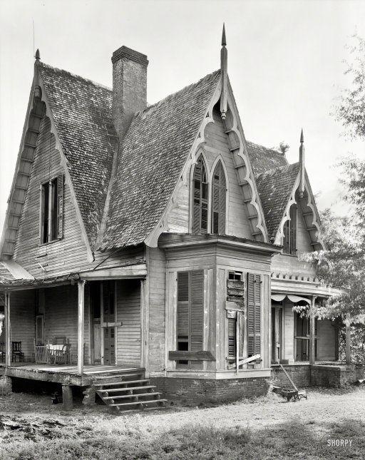 брошеный дом