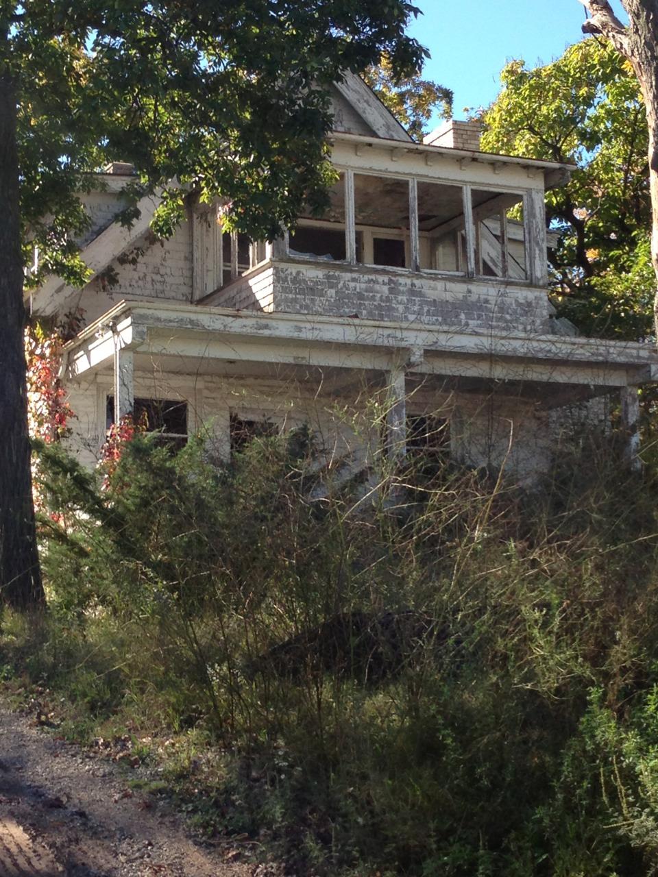 брошеный дом штат Висконсин