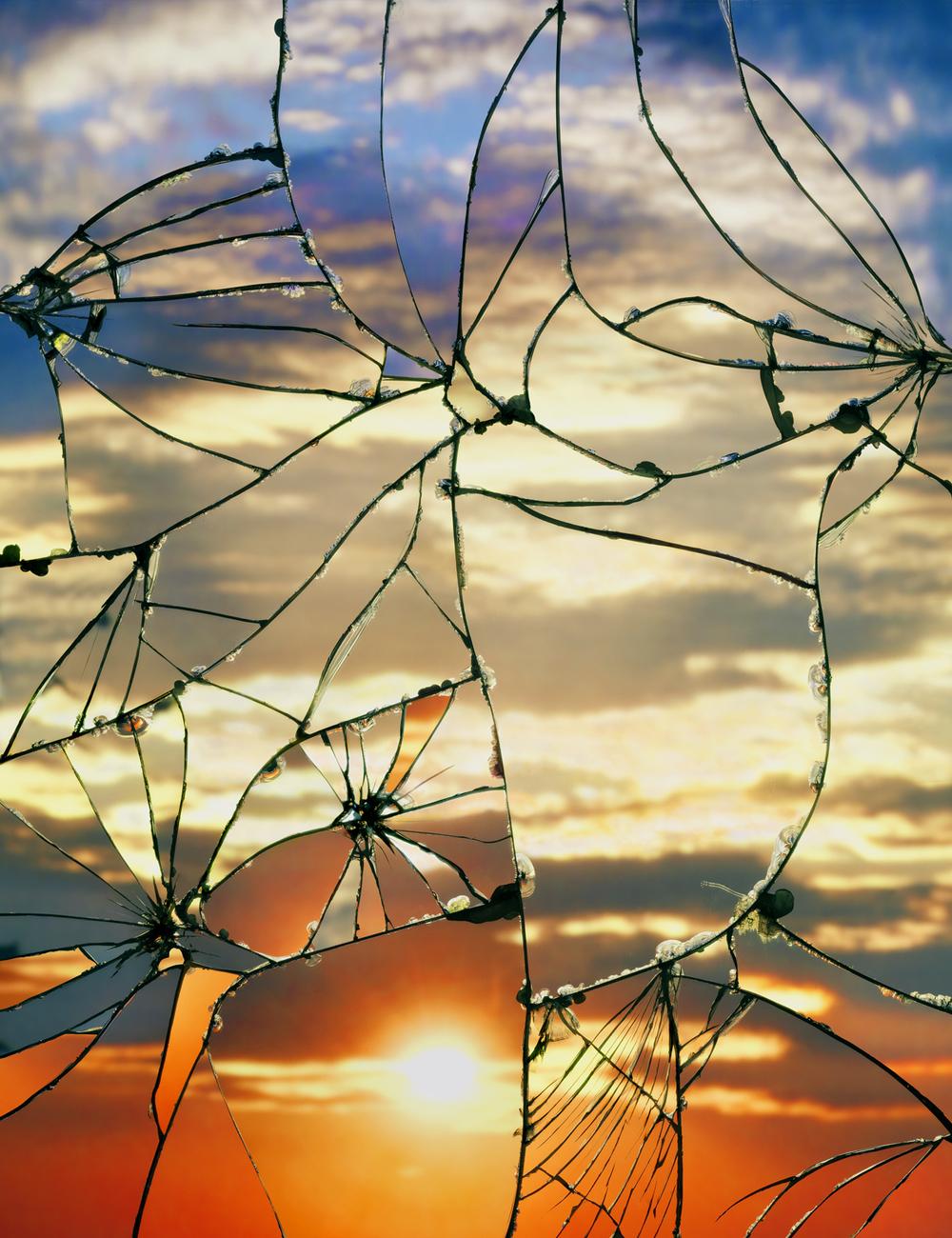 искусство разбить зеркало