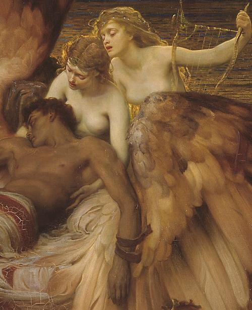 мужчино с крыльями