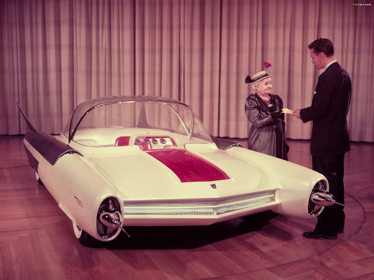1954 Ford FX Atmos Concept Car 1