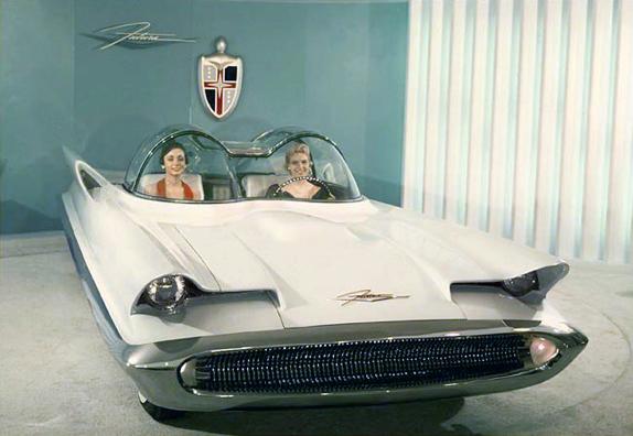 1955 Lincoln Futura concept 1