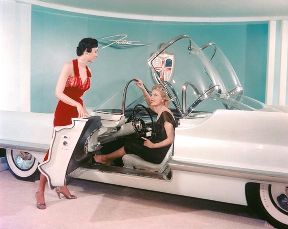 1955 Lincoln Futura concept 2