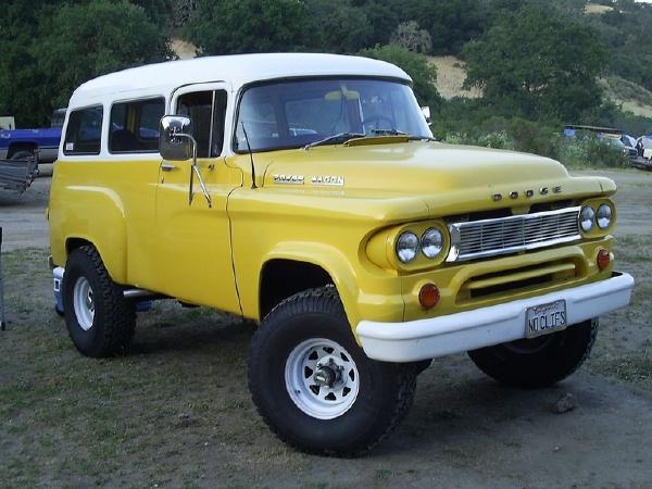 джип 60-х