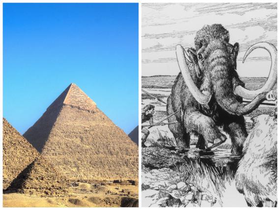 пирамиды и мамонты