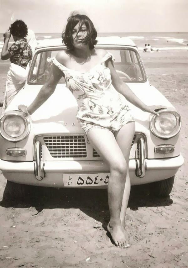 Iranian woman before the Islamic revolution, 1960
