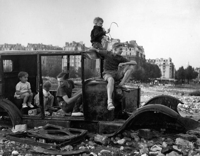 германские дети после войны