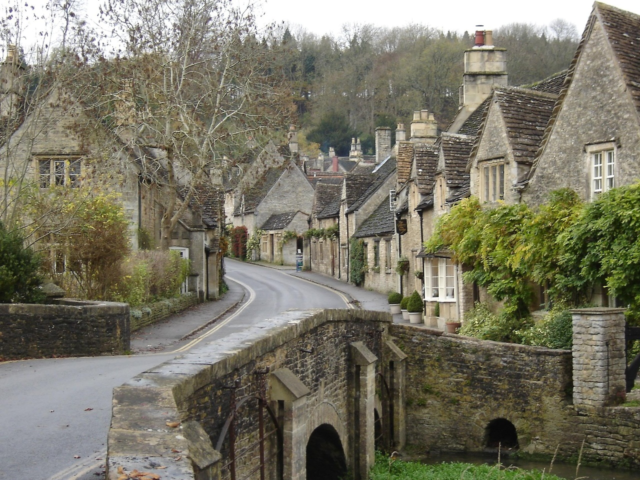 The Village of Bibury, England, с 1086 2