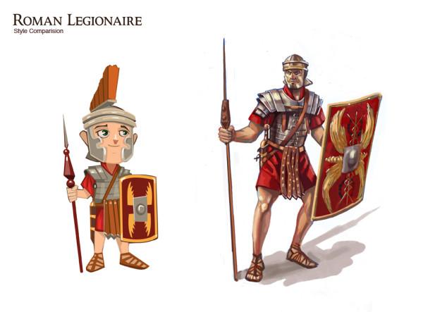 roman legionaire