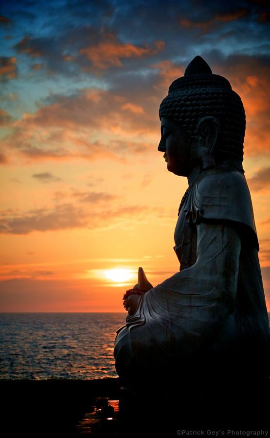 Sunset on the Waikoloa Coast, Hawaii
