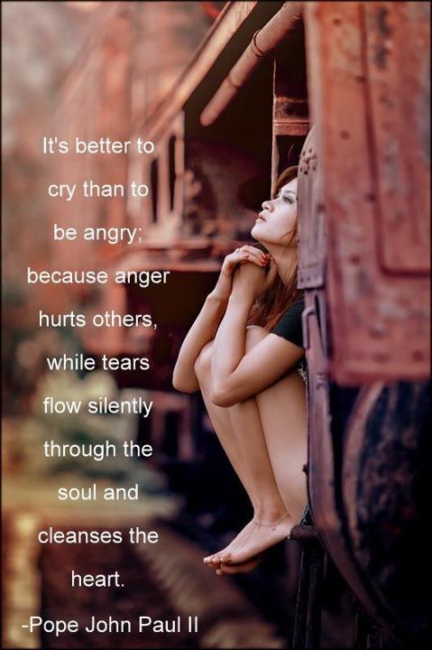 лучше слёзы