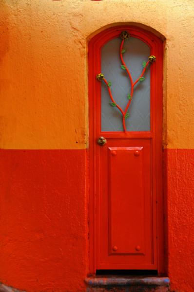 цвет дверь