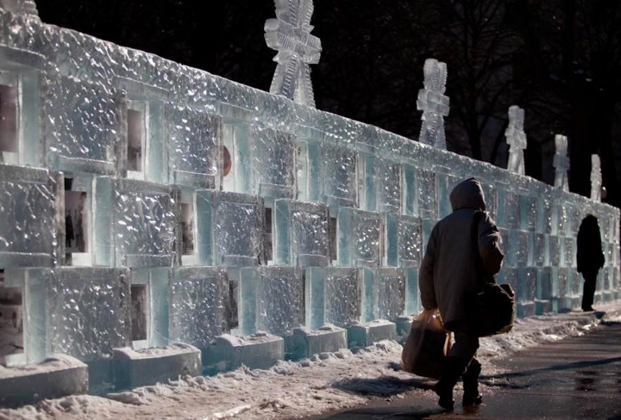 в России со льдом плохо