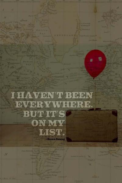 везде я ещё не был