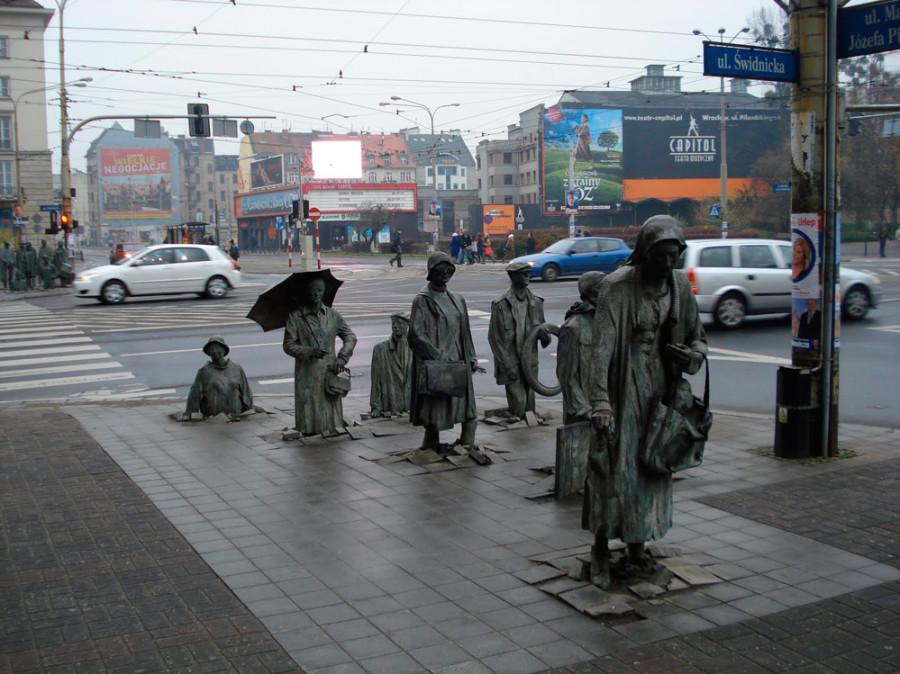 стрит арт польский