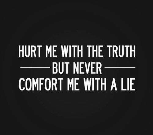 сделай мне больно правдой