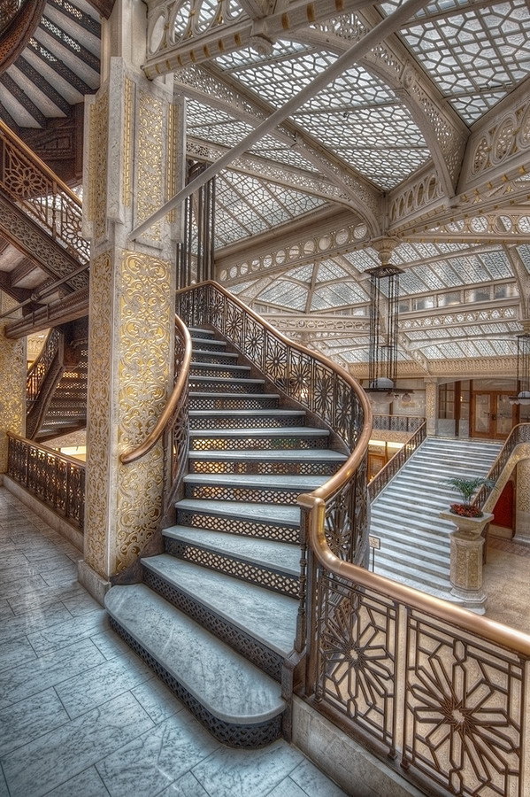 Chicago The Rookery Burnham and Root 1888