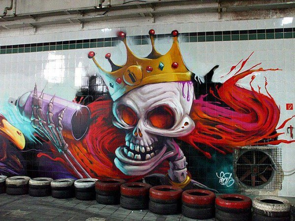 стрит-арт венгрия