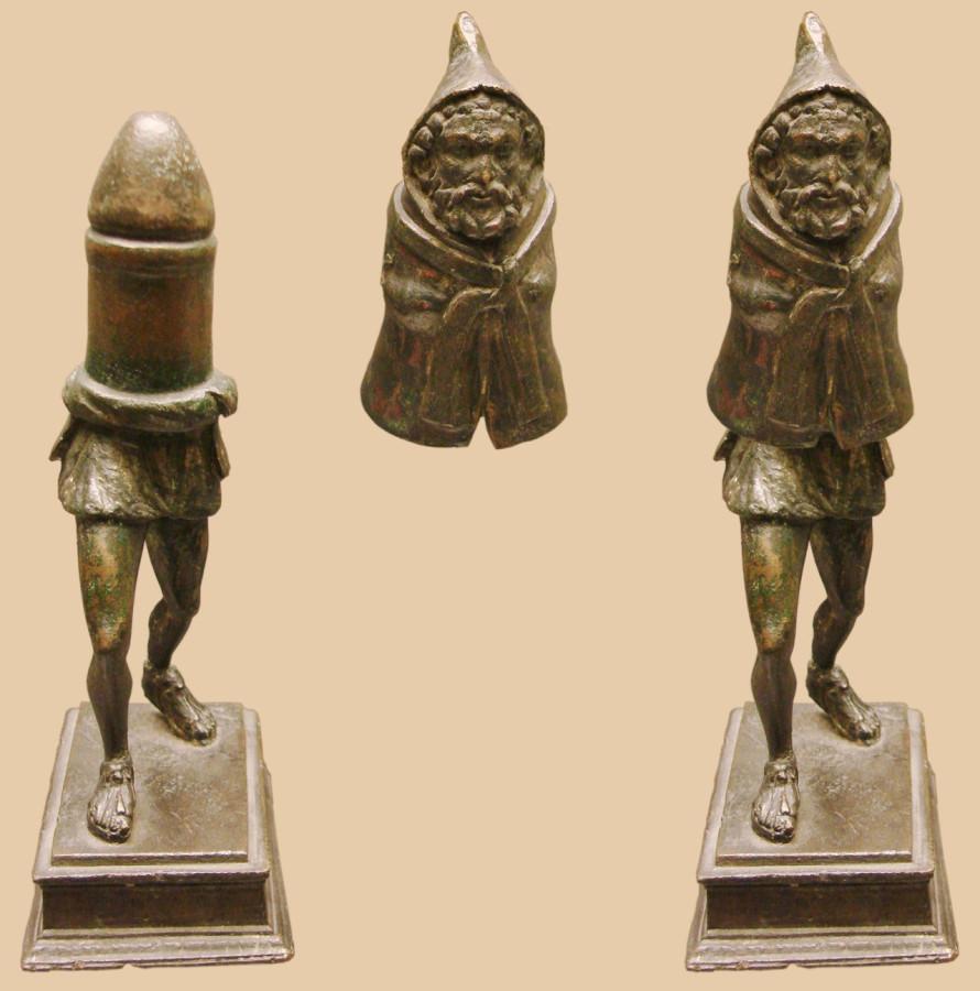 древнеримская статуэтка Приапа