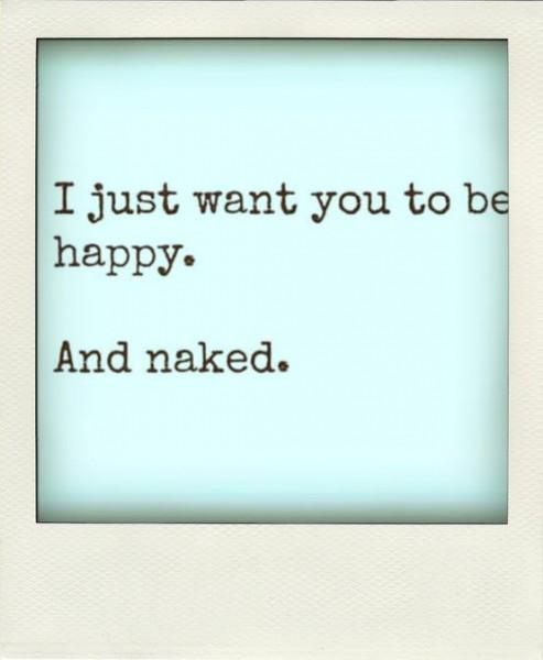 naked & happy