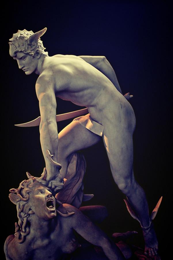 Персеюшка мочит Медузоньку