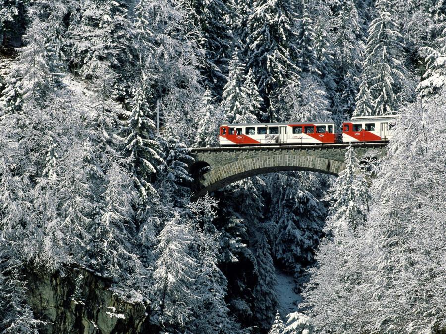 Winter Tour, Valais, Switzerland