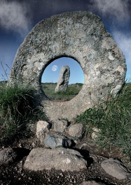 друидское надгробие в Корнуолле