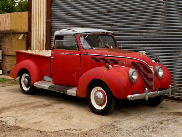 Argentinian 1938 Ford Roadster Pick