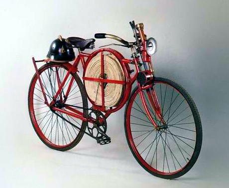 Fireman's bike - Red Wheels
