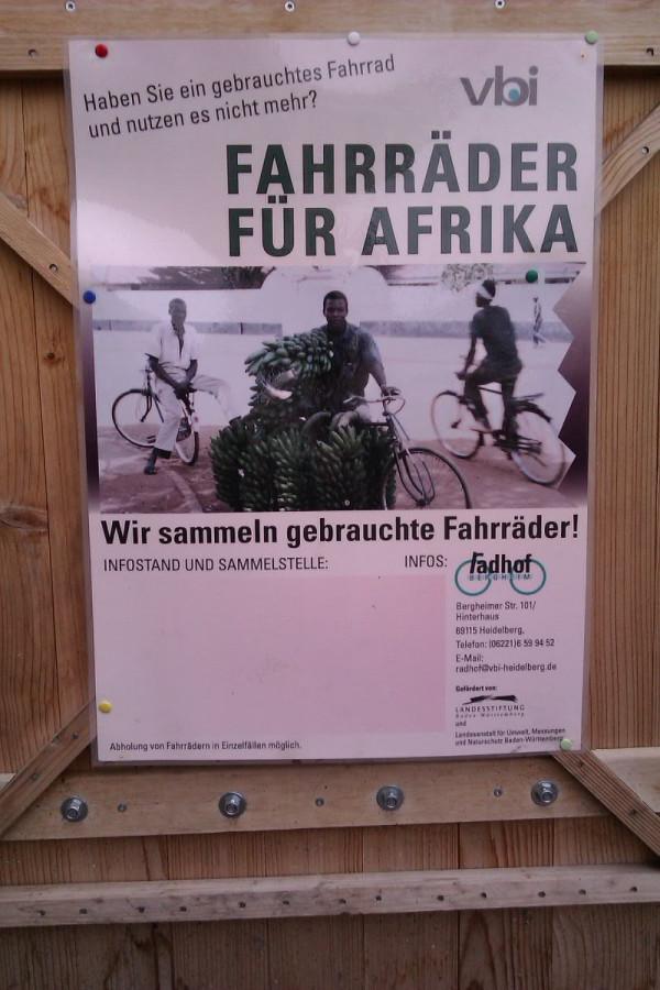 старые велы для Африки