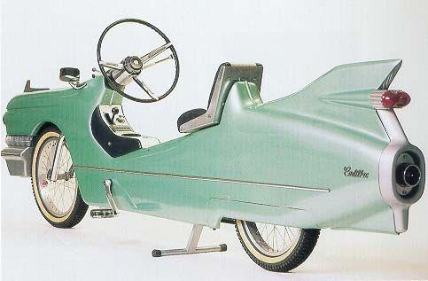 Retro Cadillac Bike
