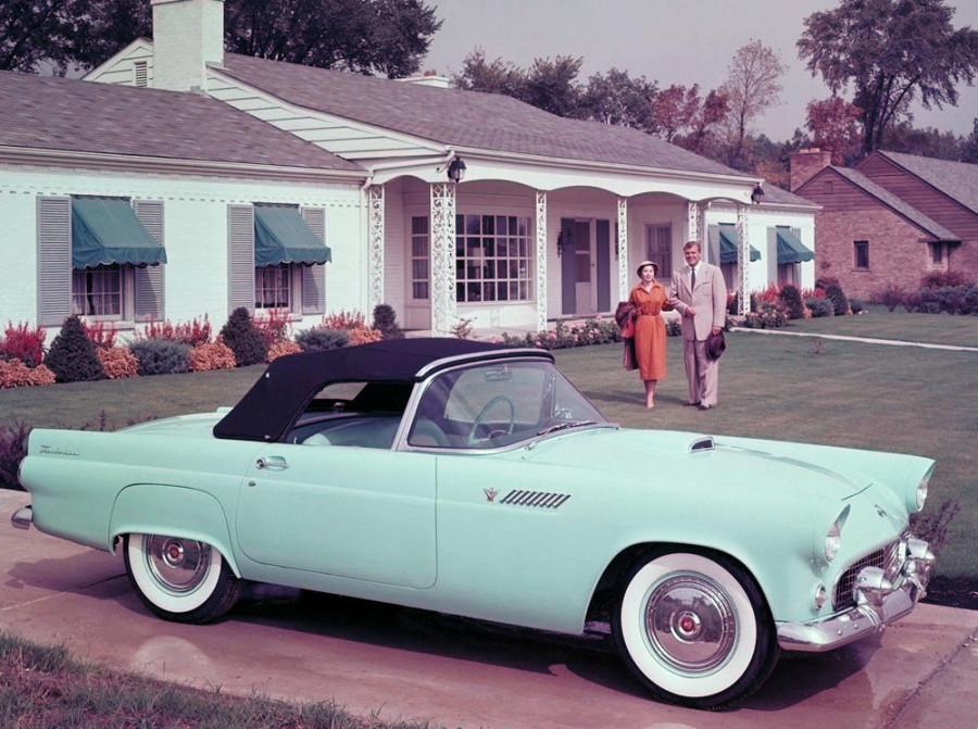 1955 Ford Thunderbird.