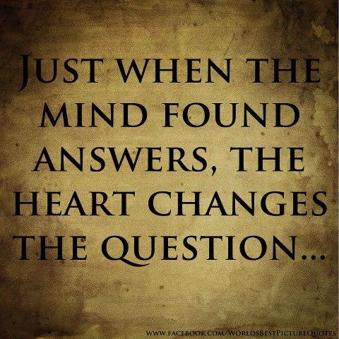 сердце меняет вопросы