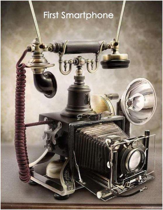 смартфон первый