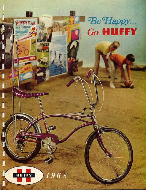 1968 Huffy Bicycle Dealer Catalog Page 1