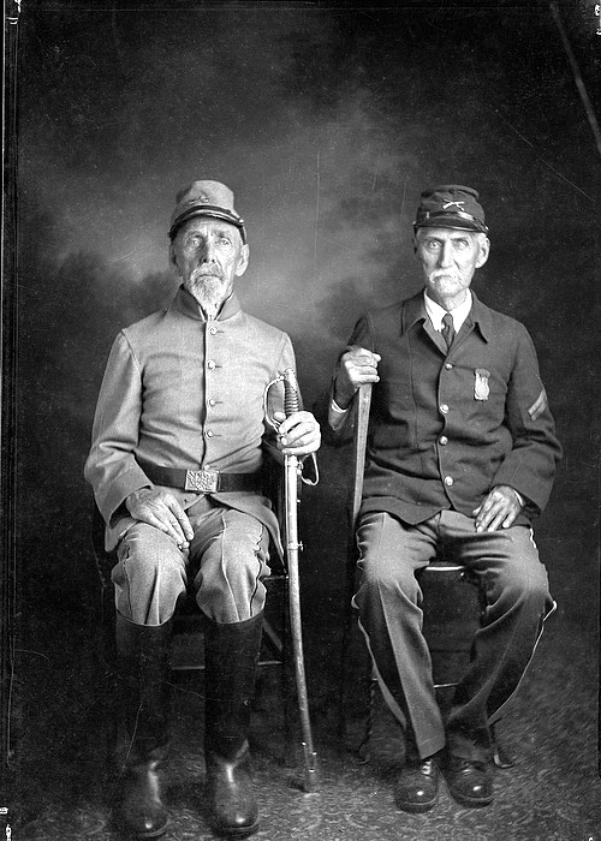 братья из армий Юга и Севера